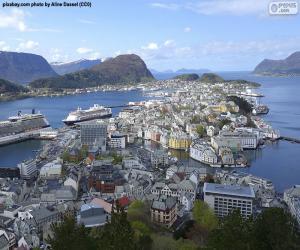 Puzle Ålesund, Norsko