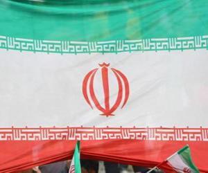 Puzle Íránská vlajka