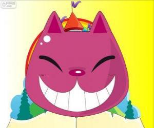 Puzle Úsměv Kočka Šklíba