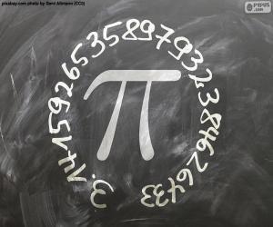 Puzle Číslo π (pí)