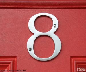 Puzle Číslo 8, stříbrná