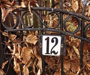 Puzle Číslo dvanáct