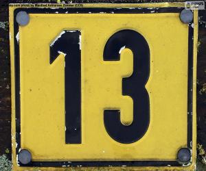 Puzle Číslo třináct