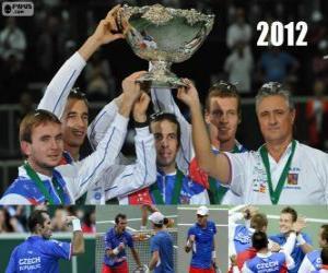 Puzle Česká republika, mistrem Copa Davis 2012