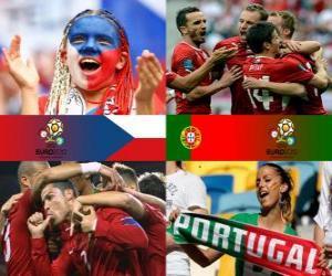 Puzle Česká republika - Portugalsko, čtvrtfinálové, Euro 2012