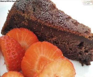 Puzle Čokoládový dort