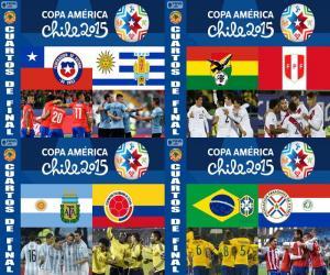 Puzle Čtvrtfinále, Chile 2015