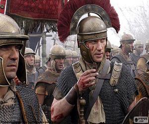 Puzle Římští vojáci