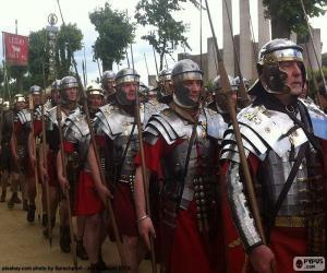 Puzle Římská armáda