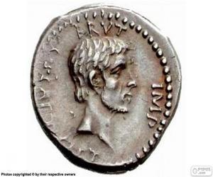Puzle Římská mince