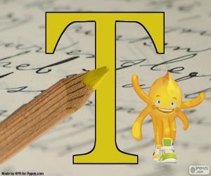 Puzle Řecké písmeno Tau