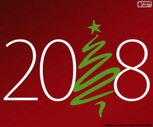 Puzle Šťastný rok 2018