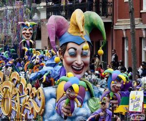 Puzle Šašci karneval
