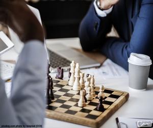 Puzle Šachová hra