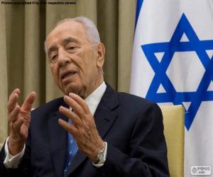 Puzle Šimon Peres