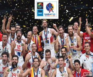 Puzle Španělsko, EuroBasket 2015