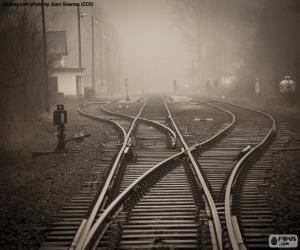 Puzle Železniční trať