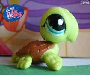 Puzle Želva z nejmenší PetShop