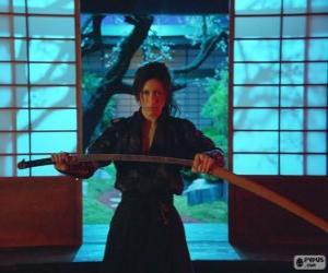 Puzle Žena samuraj