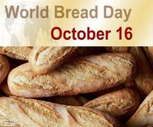 Puzle 16 Říjen, Světový den chleba