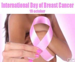 Puzle 19. Října Mezinárodní den rakoviny prsu