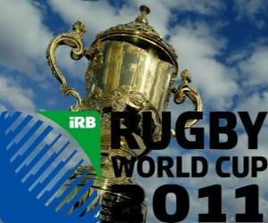 Puzle 2011 Rugby World Cup. Je slaví na Novém Zélandu od 9. na 23. října