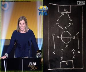 Puzle 2015 FIFA Svět trenér žen