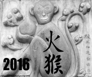 Puzle 2016, čínský rok opice požáru