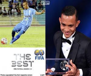 Puzle 2016 FIFA Puskás award