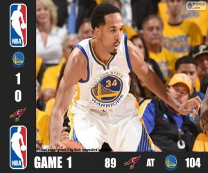 Puzle 2016 NBA finále, 1 zápas