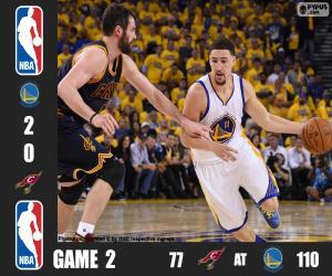Puzle 2016 NBA finále, hra 2