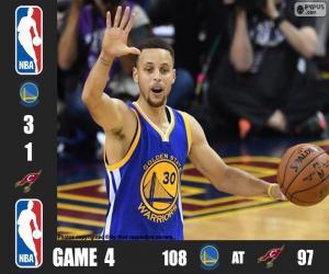 Puzle 2016 NBA finále, hra 4