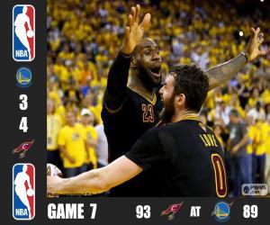 Puzle 2016 NBA finále, hra 7