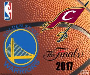 Puzle 2017 NBA finále