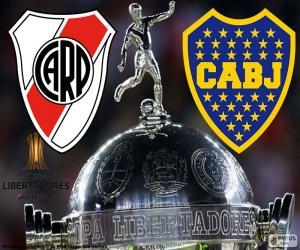Puzle 2018 Copa Libertadores konečné