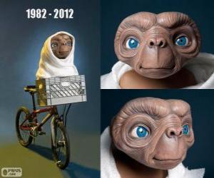 Puzle 30 Výročí E.T. - Mimozemšťan (1982)