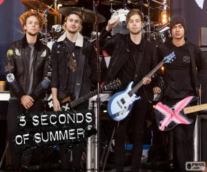 Puzle 5 Seconds of Summer, 5SOS