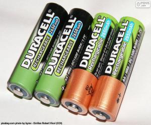 Puzle AA baterie