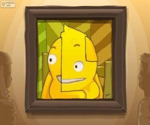 Puzle Abstraktní autoportrét Pypus