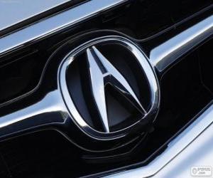 Puzle Acura logo, japonské automobilové značce
