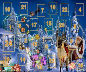 Puzle Adventní kalendář