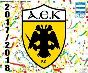 Puzle AEK Atény FC, Super Lig 2017-18