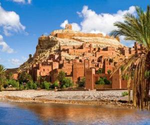 Puzle AIT Ben Haddou, Maroko