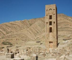 Puzle Al Qal'a Beni Hammád, Alžírsko