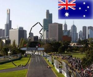 Puzle Albert Park Circuit - Austrálie -