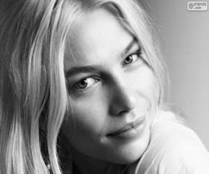 Puzle Aline Weber, brazilský model