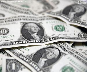 Puzle AMERICKÝ dolar