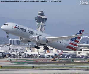 Puzle Americké aerolinie