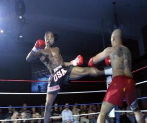 Puzle Americký kickboxing