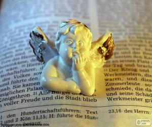 Puzle Angel a Bible